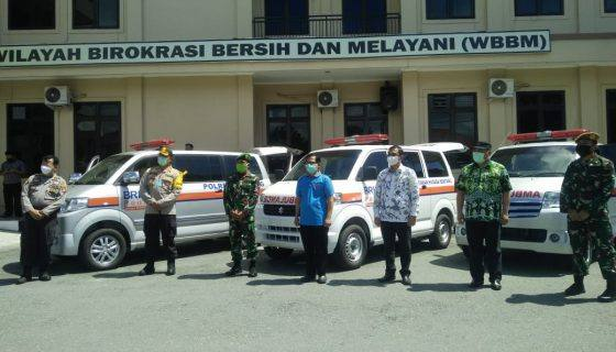 Photo of BRI Bontang Sumbang 4 Mobil Ambulans