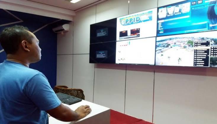 Diskominfo Bontang Pantau 21 Lokasi di Kota Bontang dari