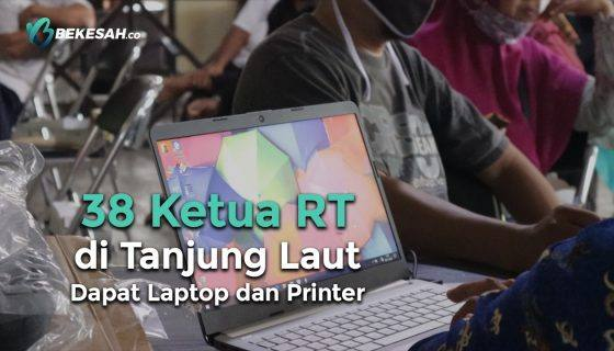 Photo of 38 Ketua RT di Tanjung Laut Dapat Laptop dan Printer